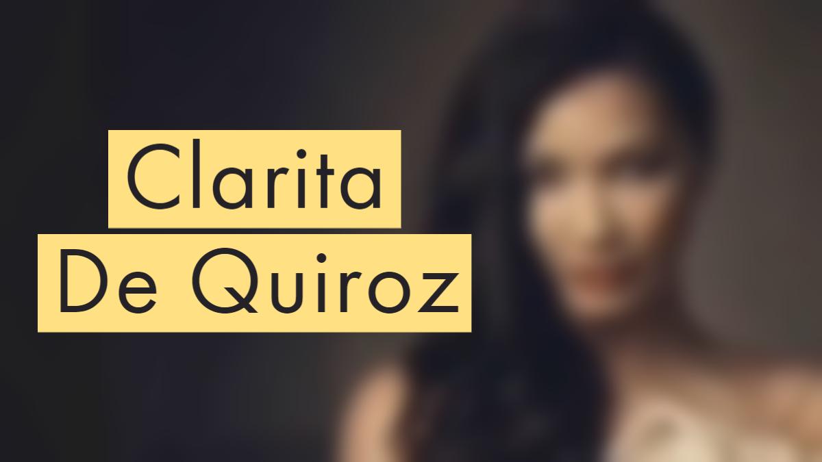 Clarita De Quiroz